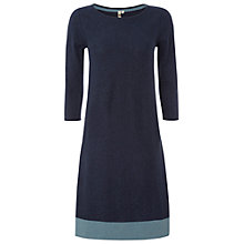 Buy White Stuff Skye Knitted Dress, Dark Atlantic Blue Online at johnlewis.com