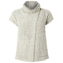 Buy White Stuff Mill Timber Cardigan, Jersey Cream Online at johnlewis.com