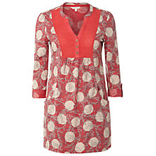 Buy White Stuff Lara Kaftan, Hot Coral Online at johnlewis.com