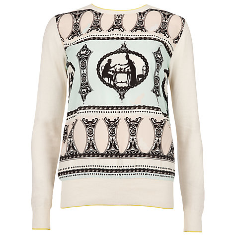 Buy Ted Baker Aiesha Jumper, Ivory Online at johnlewis.com