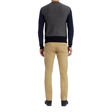 Buy Jigsaw Wool Mix Crew Neck Jumper Online at johnlewis.com