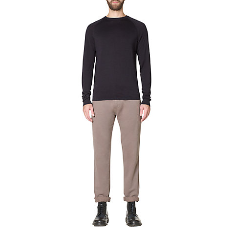 Buy Jigsaw Merino Crew Neck Jumper Online at johnlewis.com
