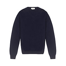 Buy Jigsaw Cashmere Elbow Patch Jumper Online at johnlewis.com