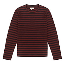 Buy Jigsaw Stripe Long Sleeve T-Shirt Online at johnlewis.com