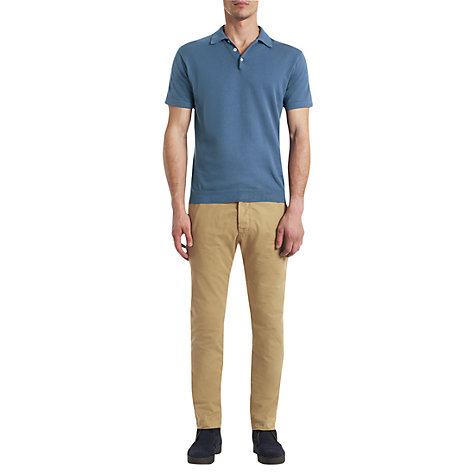 Buy Jigsaw Pima Cotton Polo Shirt Online at johnlewis.com