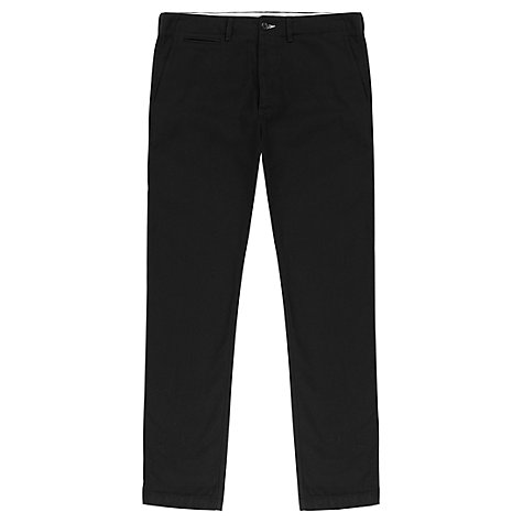 Buy Jigsaw Wool Cotton Twill Slim Fit Trousers Online at johnlewis.com