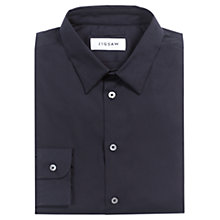 Buy Jigsaw Formal Slim Fit Shirt, Black Online at johnlewis.com