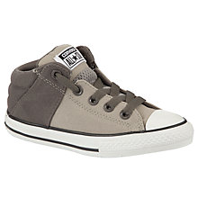 Buy Converse Chuck Taylor Axel Mid Trainers, Charcoal Online at johnlewis.com