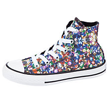 Buy Converse Chuck Taylor Sequin Hi-Top Trainers, Multi Online at johnlewis.com