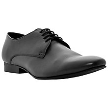 Buy Dune Rodeo Leather Derby Shoes, Black Online at johnlewis.com