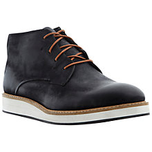 Buy Dune Chadwell Chunky Boots, Black Online at johnlewis.com