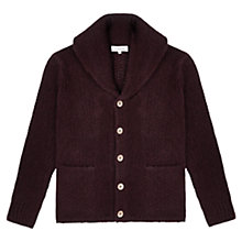 Buy Jigsaw Shetland Wool Shawl Cardigan Online at johnlewis.com