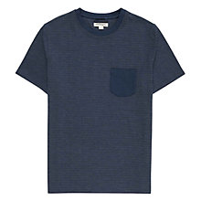 Buy Reiss Blake Jacquard T-Shirt Online at johnlewis.com