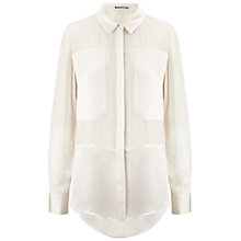 Buy Whistles Athena Blouse, Ivory Online at johnlewis.com