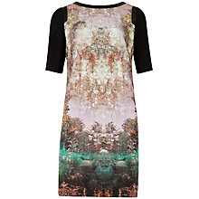 Buy Ted Baker Atheena Dress, Deep Purple Online at johnlewis.com