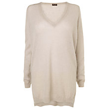 Buy Phase Eight Florry Fluffy Tunic, Dusty Pink Online at johnlewis.com