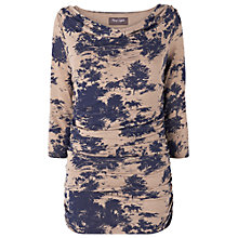 Buy Phase Eight Tallie Toile De Jois Top, Navy/Oatmeal Online at johnlewis.com