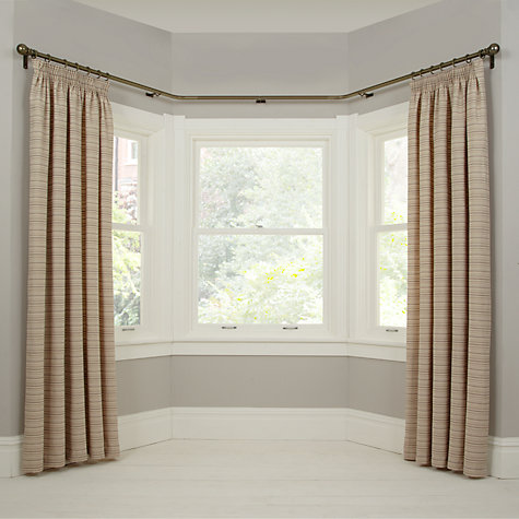 Buy John Lewis Made To Measure Classic Bay Bend Curtain