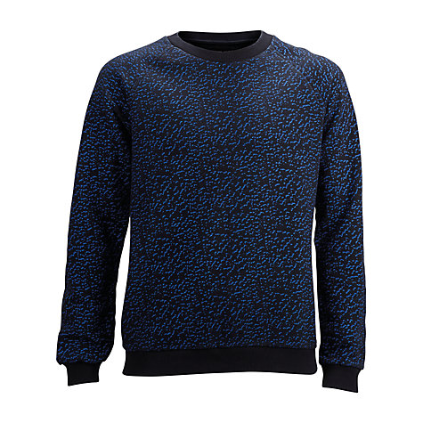 Buy Selected Homme Dot Camouflage Jumper, Vulcan Online at johnlewis.com