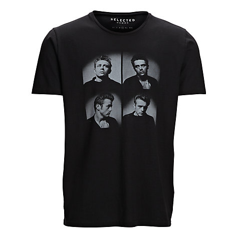 Buy Selected Homme James Dean T-Shirt Online at johnlewis.com