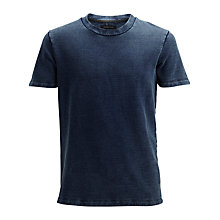 Buy Selected Homme Short Sleeve T-Shirt, Light Blue Online at johnlewis.com