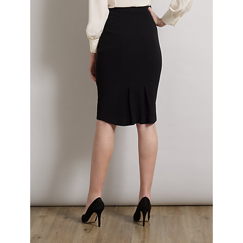 Buy Somerset by Alice Temperley Pencil Skirt, Black Online at johnlewis.com
