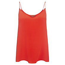 Buy Jigsaw Silk Camisole, Orange Online at johnlewis.com