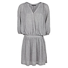 Buy Mango Loose Fit Jersey Dress, Medium Grey Online at johnlewis.com