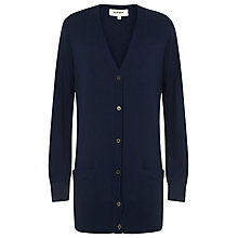 Buy Havren Cashmere Cardigan, Indigo Online at johnlewis.com
