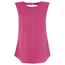 Buy Warehouse Pleated Shoulder Top Online at johnlewis.com