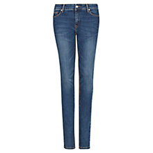 Buy Mango Slim Fit Dark Jeans, Navy Online at johnlewis.com