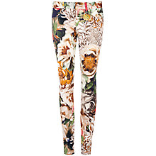 Buy Ted Baker Tessah Floral Jeans, Ivory Online at johnlewis.com