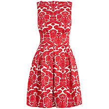Buy Closet Cut-out Back Dress, Red Online at johnlewis.com