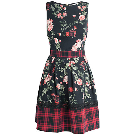 Buy Closet Check Dress, Multi Online at johnlewis.com