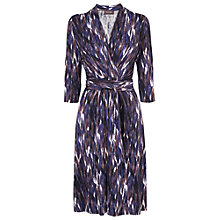 Buy Phase Eight Zayna Zig Zag Dress, Blue Online at johnlewis.com