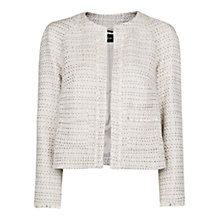 Buy Mango Frayed Detail Jacket Online at johnlewis.com