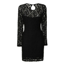 Buy True Decadence Sweetheart Lace Dress, Black Online at johnlewis.com