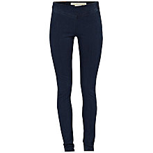 Buy French Connection Leah Denim Leggings, Enzyme Wash Online at johnlewis.com
