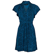 Buy French Connection Wild Wendy Dress, Blue Online at johnlewis.com