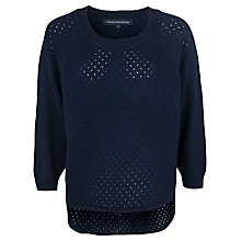 Buy French Connection Sloane Slub Jumper Online at johnlewis.com