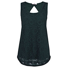Buy Oasis Longline Vest, Deep Green Online at johnlewis.com