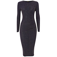 Buy Rise Bonnie Lurex Dress, Blue Online at johnlewis.com