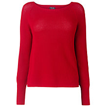 Buy Phase Eight Maddy Cowl Neck Jumper, Red Online at johnlewis.com