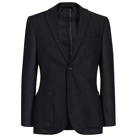 Buy Reiss Jeffery Notch Lapel Blazer, Soft Grey Online at johnlewis.com