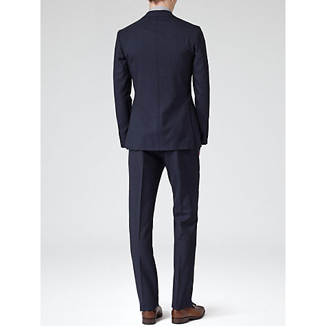 Buy Reiss Riva Pick Stitch Suit, Indigo Online at johnlewis.com