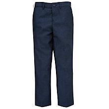 Buy John Lewis Heirloom Collection Boys' Herringbone Trousers, Blue Online at johnlewis.com