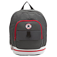 Buy Converse All Star Badge Backpack, Grey Online at johnlewis.com