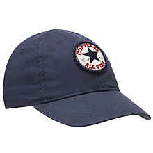 Buy Converse Boys' All Star Varsity Cap, Navy Online at johnlewis.com