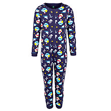 Buy John Lewis Boy Pirate & Anchor Onesie, Navy Online at johnlewis.com