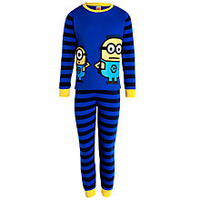 Buy John Lewis Boy Despicable Me 2 Pyjamas, Blue Online at johnlewis.com